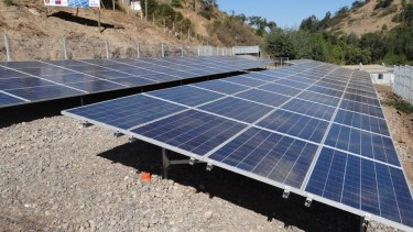 Estos son los paneles fotovoltaicos cuya fuente energética es el sol.