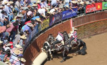 La Serie Final del Campeonato Nacional de Rodeo se desarrolló esta tarde.