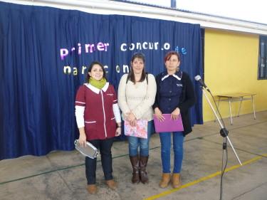 En el establecimiento se realizo el primer concurso e narración.